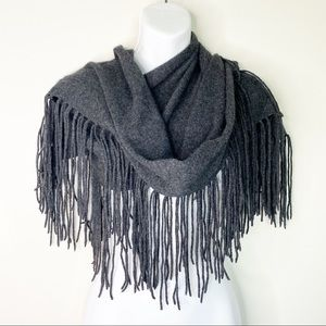 Neiman Marcus Collection Cashmere Fringe Scarf